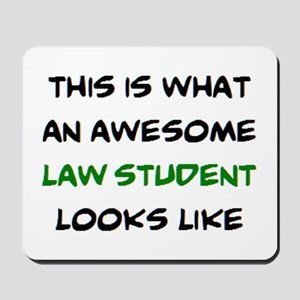 awesome law student Mousepad