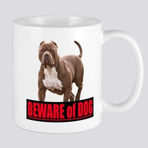 Beware of dog Mug