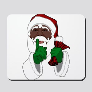 African Santa Clause Mousepad