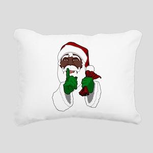 African Santa Clause Rectangular Canvas Pillow