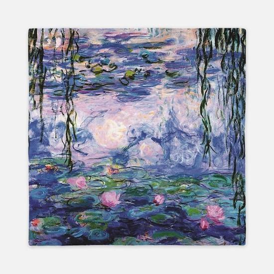 Cool Monet Queen Duvet