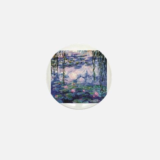 Cute Monet Mini Button