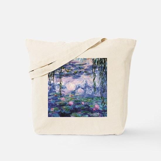 Unique Lily pond Tote Bag