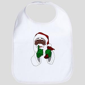 African Santa Clause Baby Bib