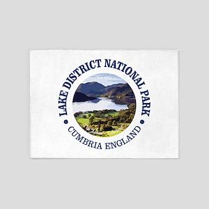 Lake District NP 5'x7'Area Rug