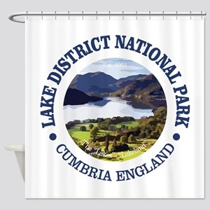 Lake District NP Shower Curtain