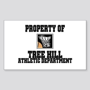 Tree Hill Athletics Rectangle Sticker