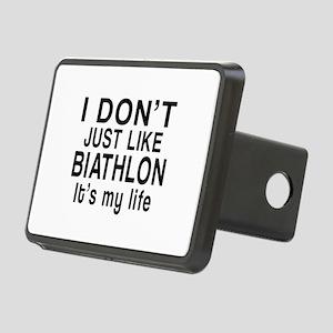 Biathlon It Is My Life Rectangular Hitch Cover