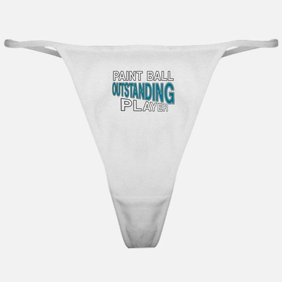 Paintball Outstanding Player Classic Thong