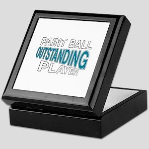 Paintball Outstanding Player Keepsake Box