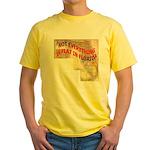 Flat Florida Yellow T-Shirt