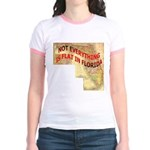 Flat Florida Jr. Ringer T-Shirt