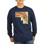 Flat Florida Long Sleeve Dark T-Shirt