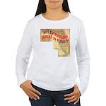 Flat Florida Women's Long Sleeve T-Shirt