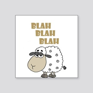 Blah Blah Blah Sheep Sticker