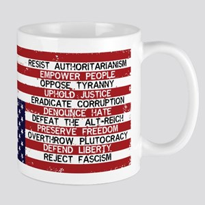 Reject Fascism Mugs