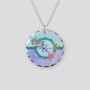 Personalized Monogram Mermaid Necklace