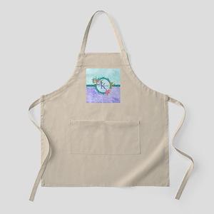 Personalized Monogram Mermaid Apron