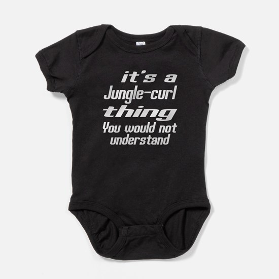 Jungle-curl Thing You Would Not Unde Baby Bodysuit