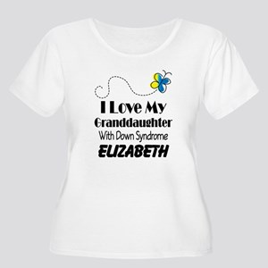 Down Syndrome Granddaughter Personalized Plus Size
