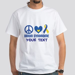Down Syndrome Personalized T-Shirt