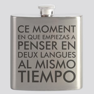 Thinking in French and Spanish Flask