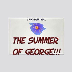 Summer of George Magnets