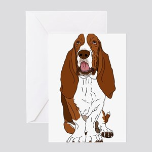 Classic Bassett Greeting Cards