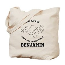 Personalized Marching Band Tote Bag