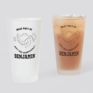 Personalized Marching Band Drinking Glass