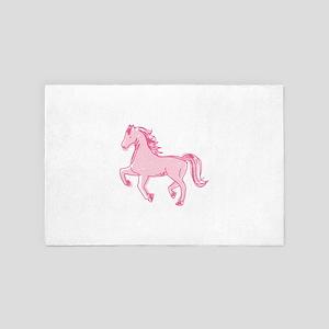 Pretty Ponies 4' x 6' Rug