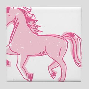 Pretty Ponies Tile Coaster