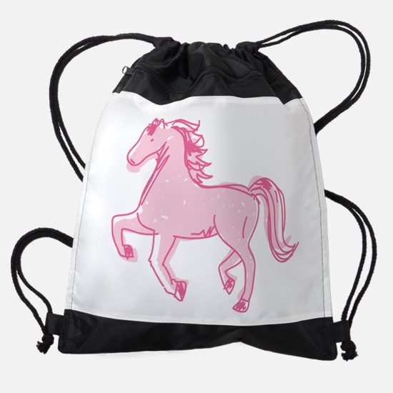 Pretty Ponies Drawstring Bag
