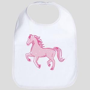 Pretty Ponies Baby Bib