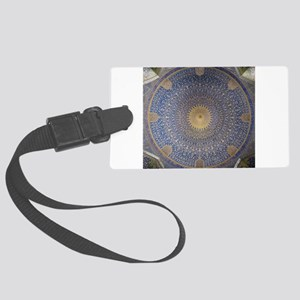 Jameh Mosque Large Luggage Tag