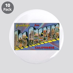 """Los Angeles Vintage 3.5"""" Button (10 pack)"""