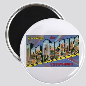 """Los Angeles Vintage 2.25"""" Magnet (10 pack)"""