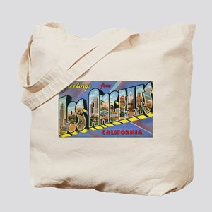 Los Angeles Vintage Tote Bag