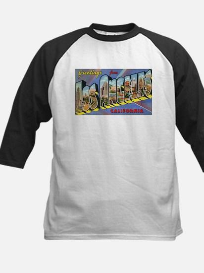 Los Angeles Vintage Kids Baseball Jersey