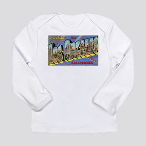 Los Angeles Vintage Long Sleeve Infant T-Shirt