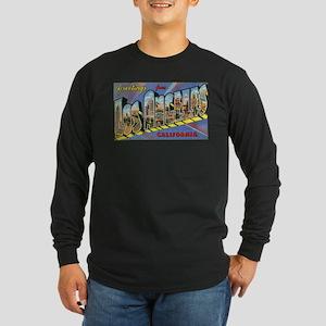 Los Angeles Vintage Long Sleeve Dark T-Shirt