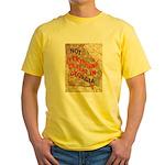 Flat Georgia Yellow T-Shirt