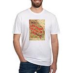 Flat Georgia Fitted T-Shirt