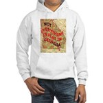 Flat Georgia Hooded Sweatshirt
