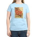 Flat Georgia Women's Light T-Shirt