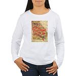 Flat Georgia Women's Long Sleeve T-Shirt