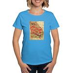 Flat Georgia Women's Dark T-Shirt