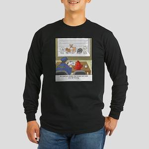 Dog Lineup Long Sleeve T-Shirt
