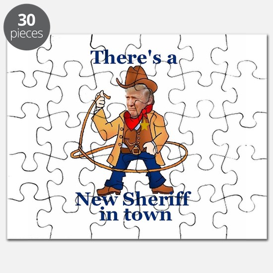Trump New Sheriff 2017 Puzzle