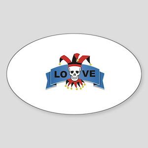 love skull Sticker